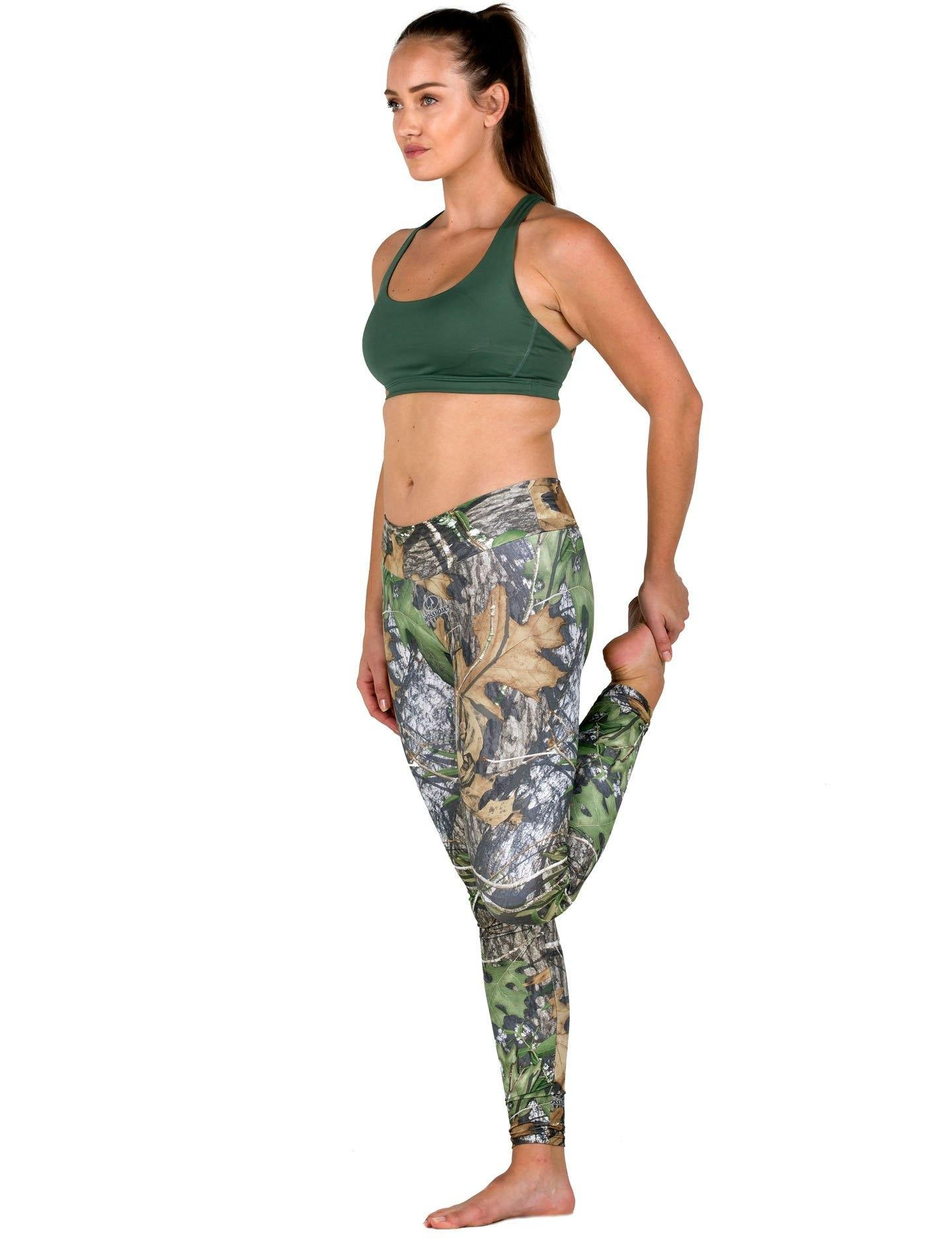 Apsara Leggings Low Waist Full Length, Mossy Oak Obsession - Apsara Style