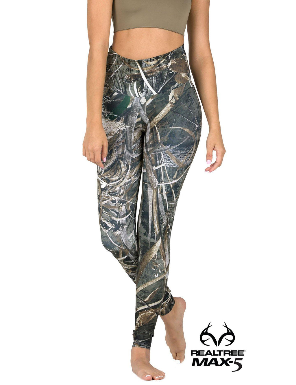 Apsara Leggings High Waist Full Length, Realtree Max-5