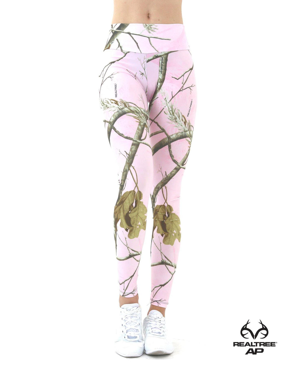 Apsara Leggings Low Waist Full Length, Realtree AP Pink