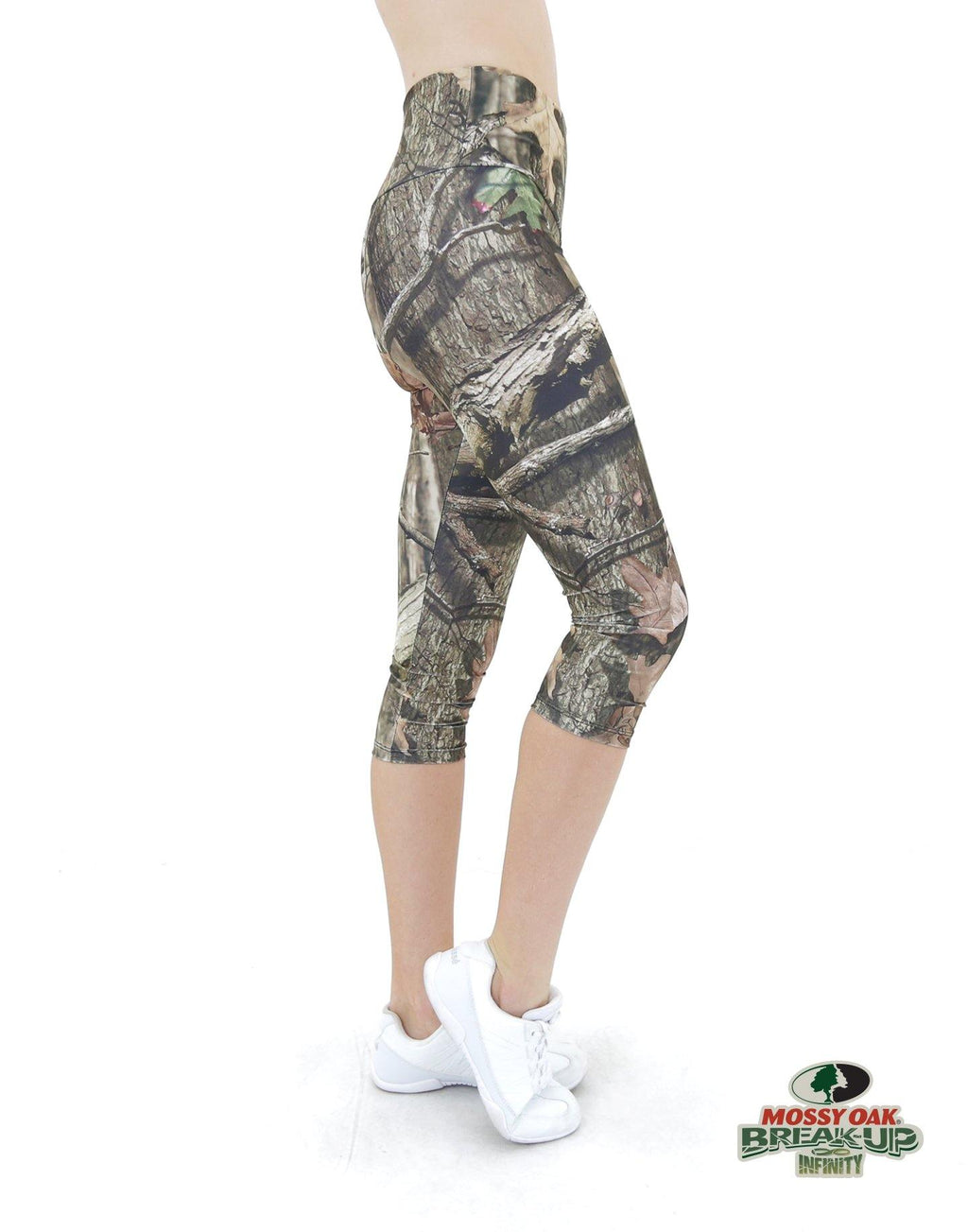Apsara Leggings High Waist Capri, Mossy Oak Break-Up Infinity