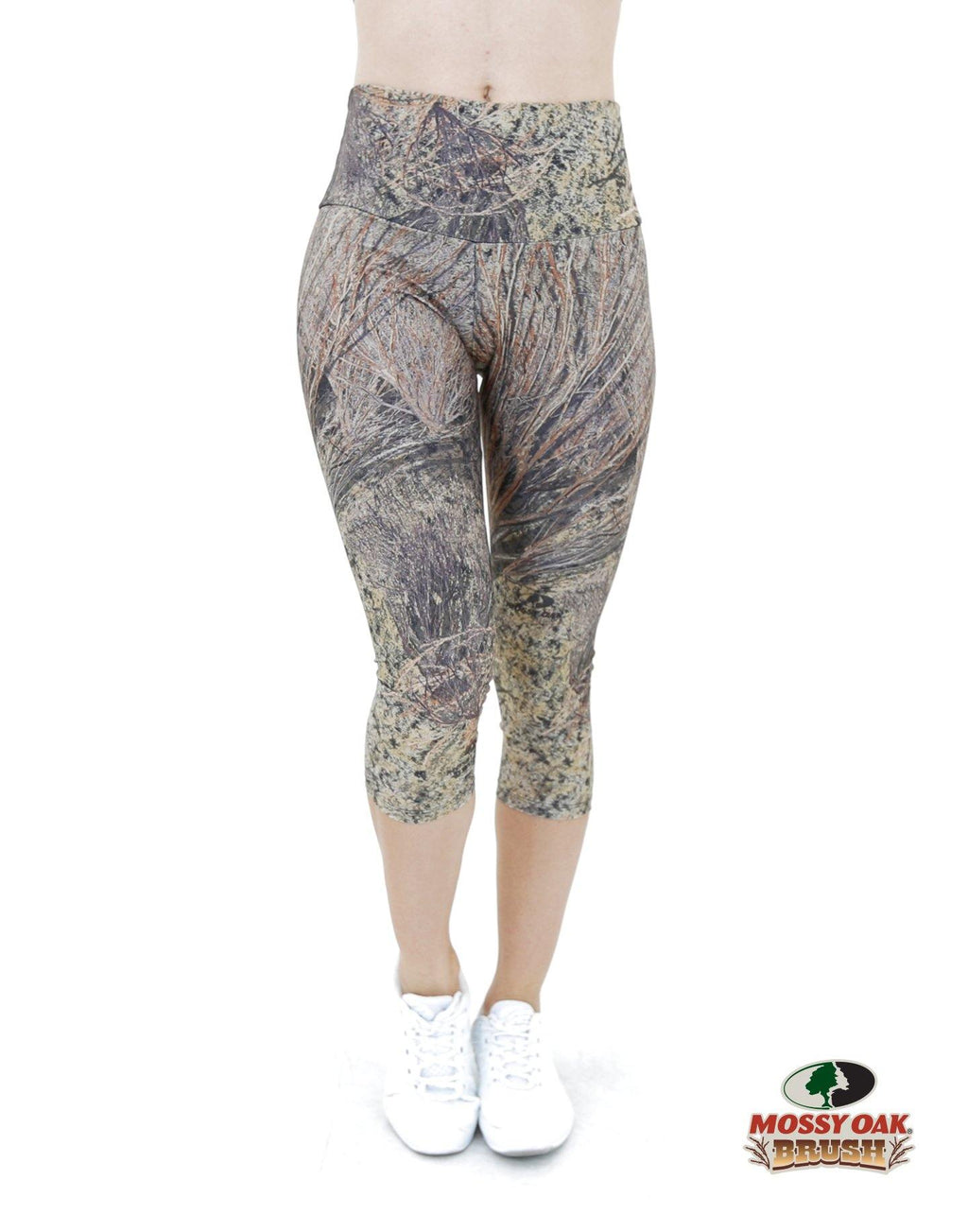 Apsara Leggings High Waist Capri, Mossy Oak Brush - Apsara Style