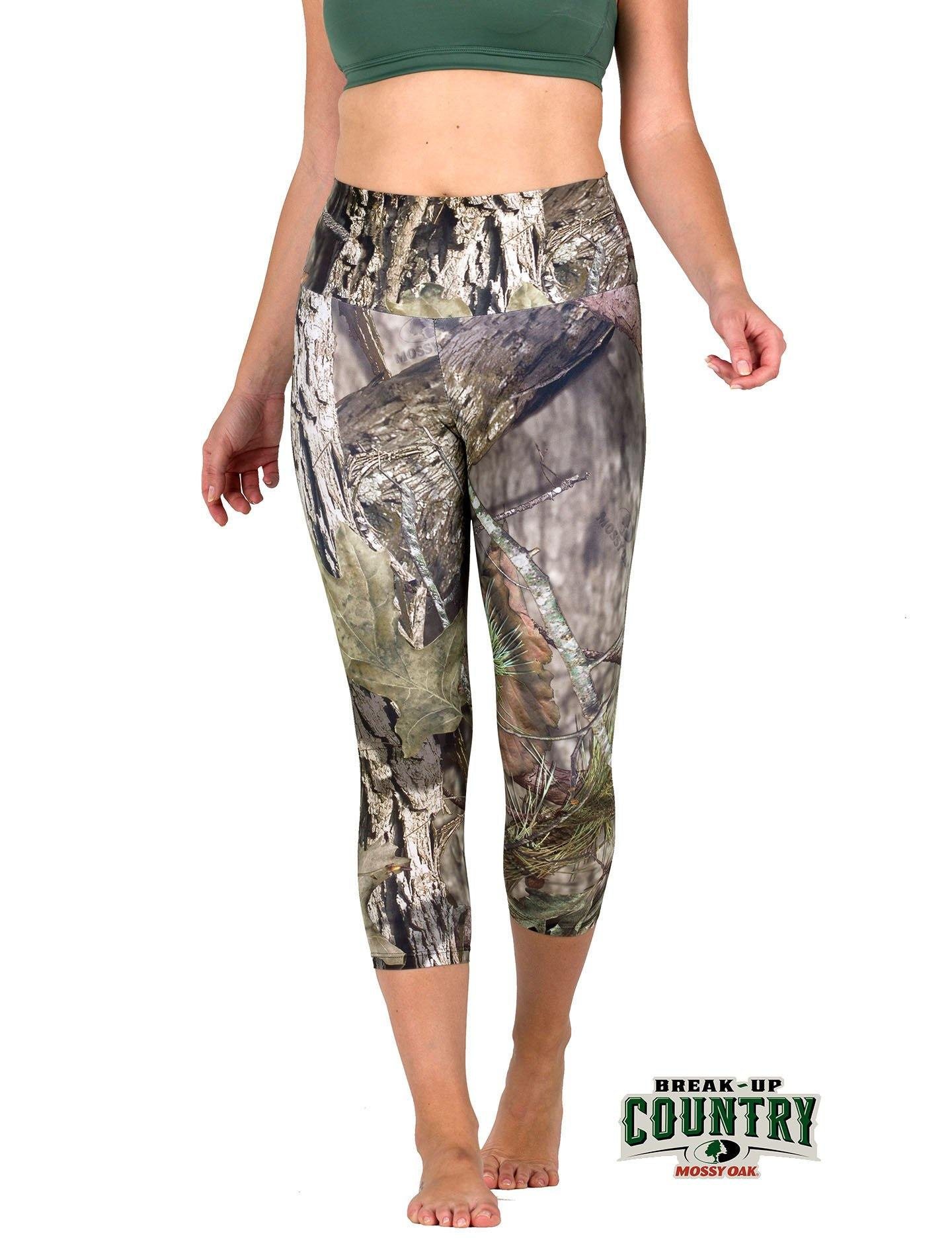 Apsara Leggings High Waist Capri, Mossy Oak Break-Up Country