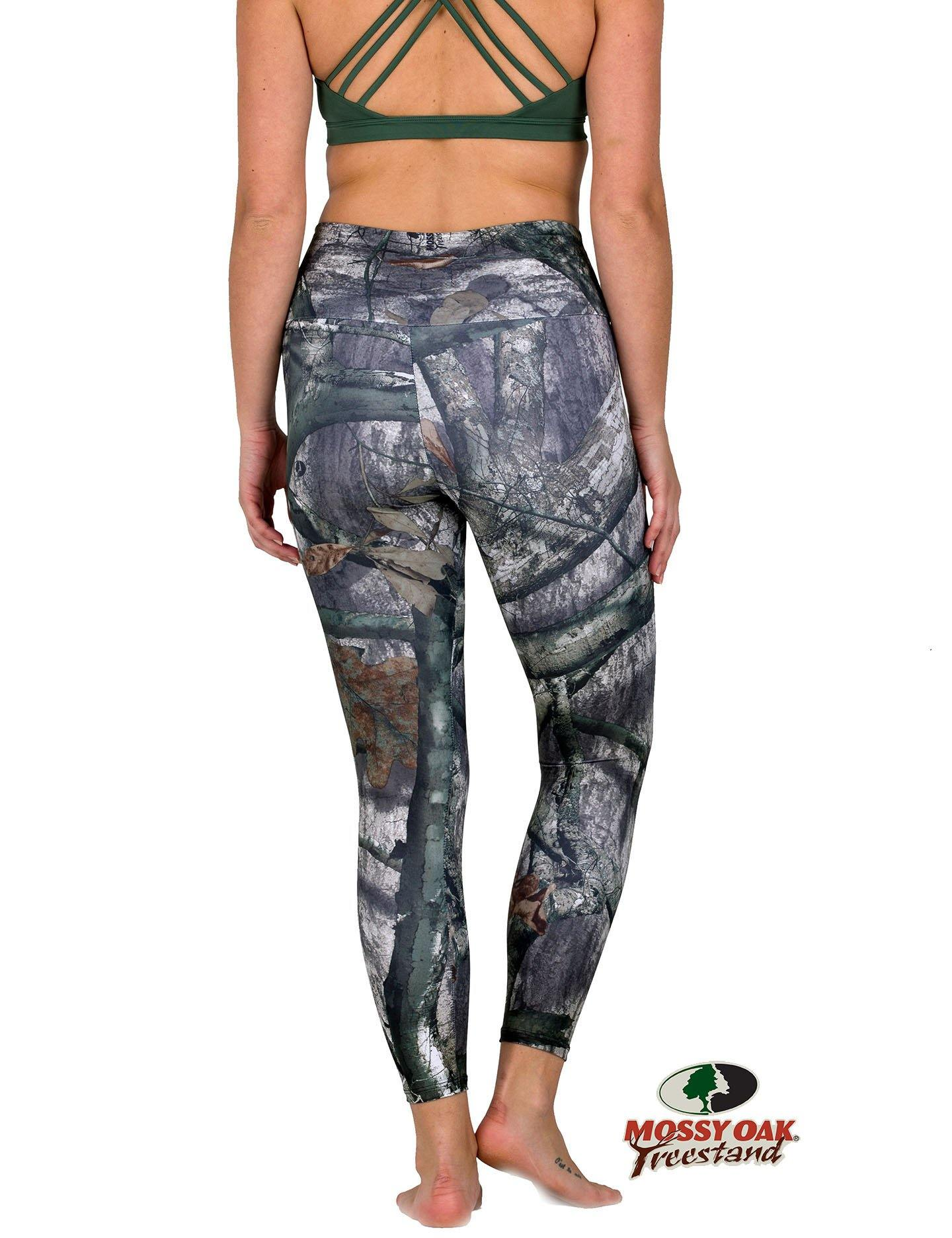 Apsara Leggings Low Waist Capri, Mossy Oak Treestand