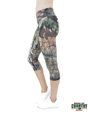 Apsara Leggings Low Waist Capri, Mossy Oak Break-Up Country - Apsara Style