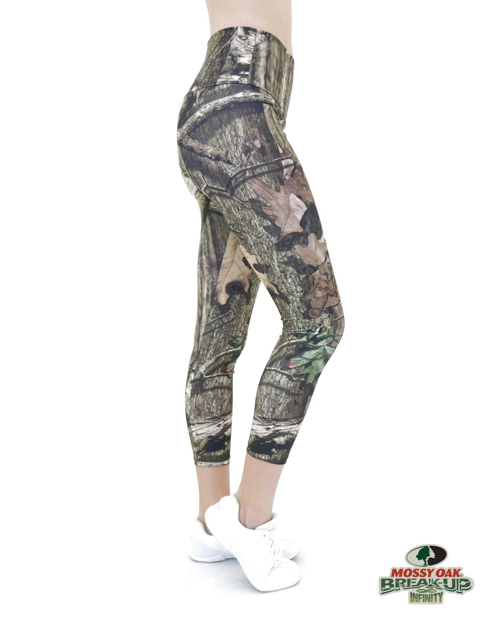Apsara Leggings High Waist Cropped, Mossy Oak Break-Up Infinity