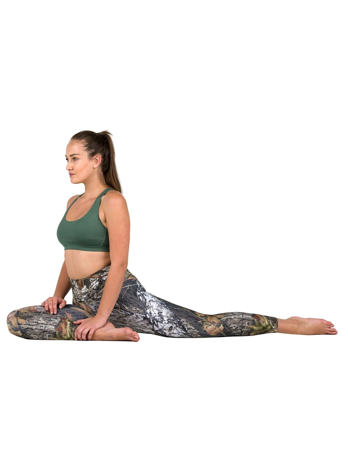 Apsara Leggings High Waist Cropped, Mossy Oak Break-Up