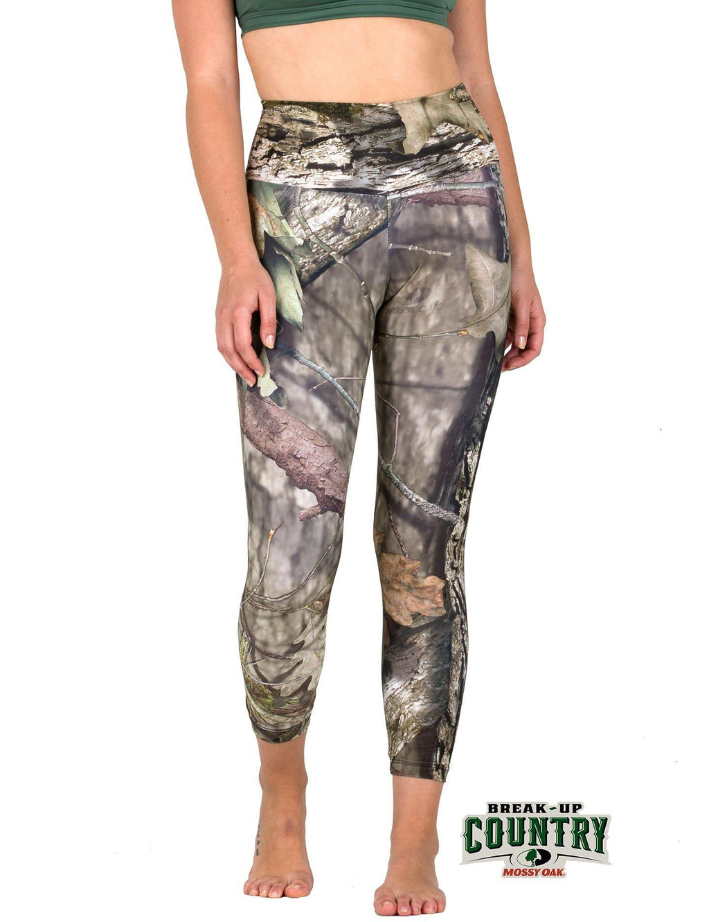 Apsara Leggings High Waist Cropped, Mossy Oak Break-Up Country