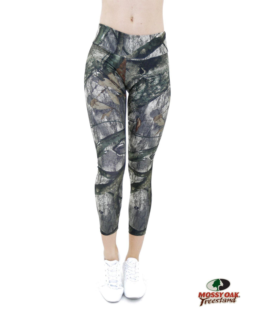Apsara Leggings Low Waist Cropped, Mossy Oak Treestand