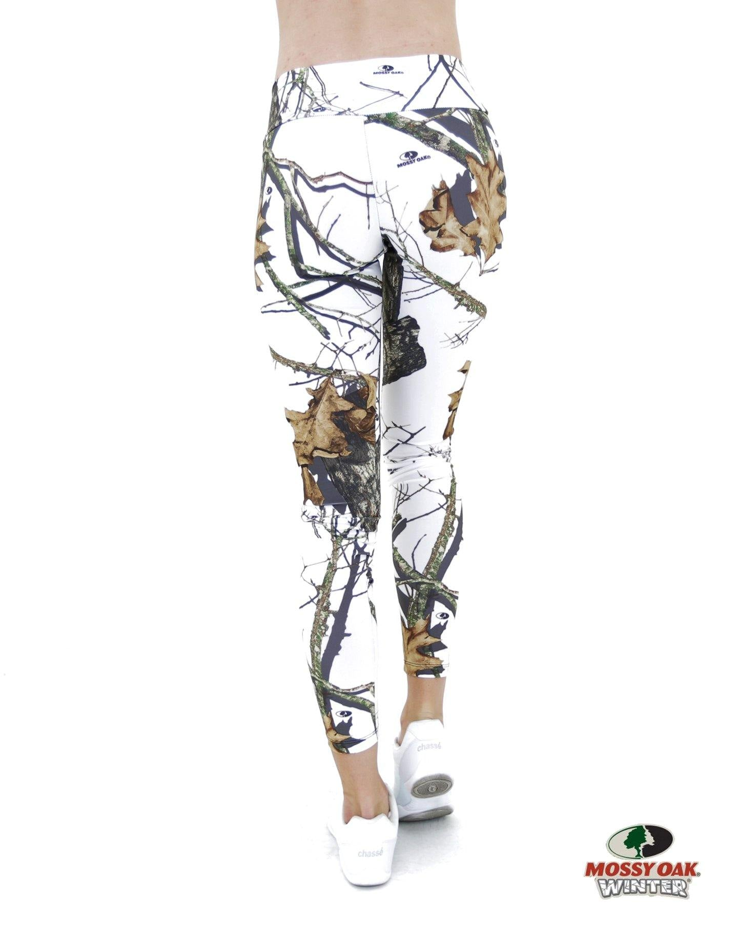 Apsara Leggings Low Waist Cropped, Mossy Oak Break-Up Winter