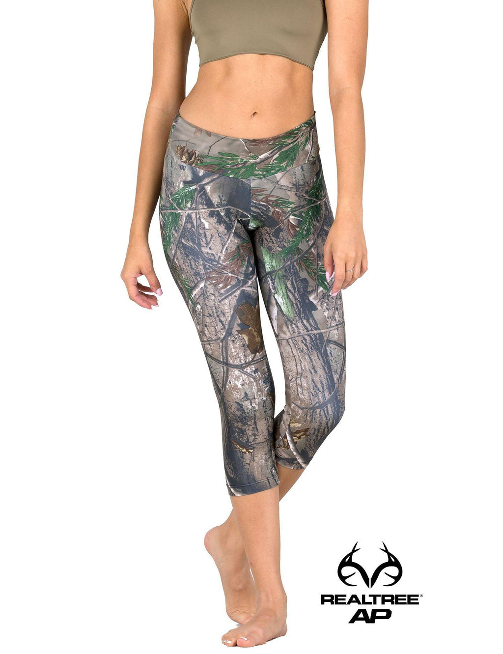 Apsara Leggings Low Waist Capri, Realtree AP