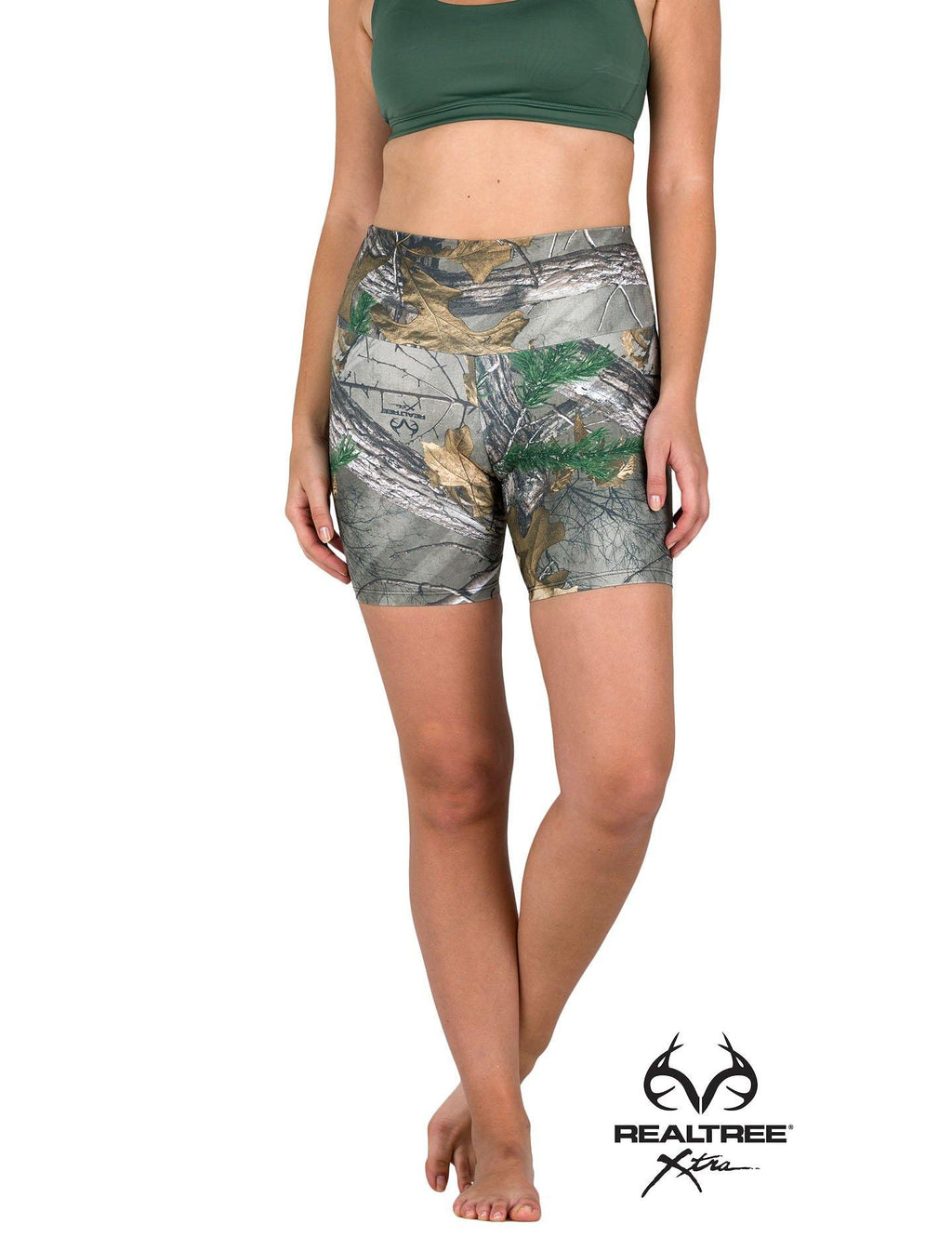 Apsara Shorts High Waist, Realtree Xtra