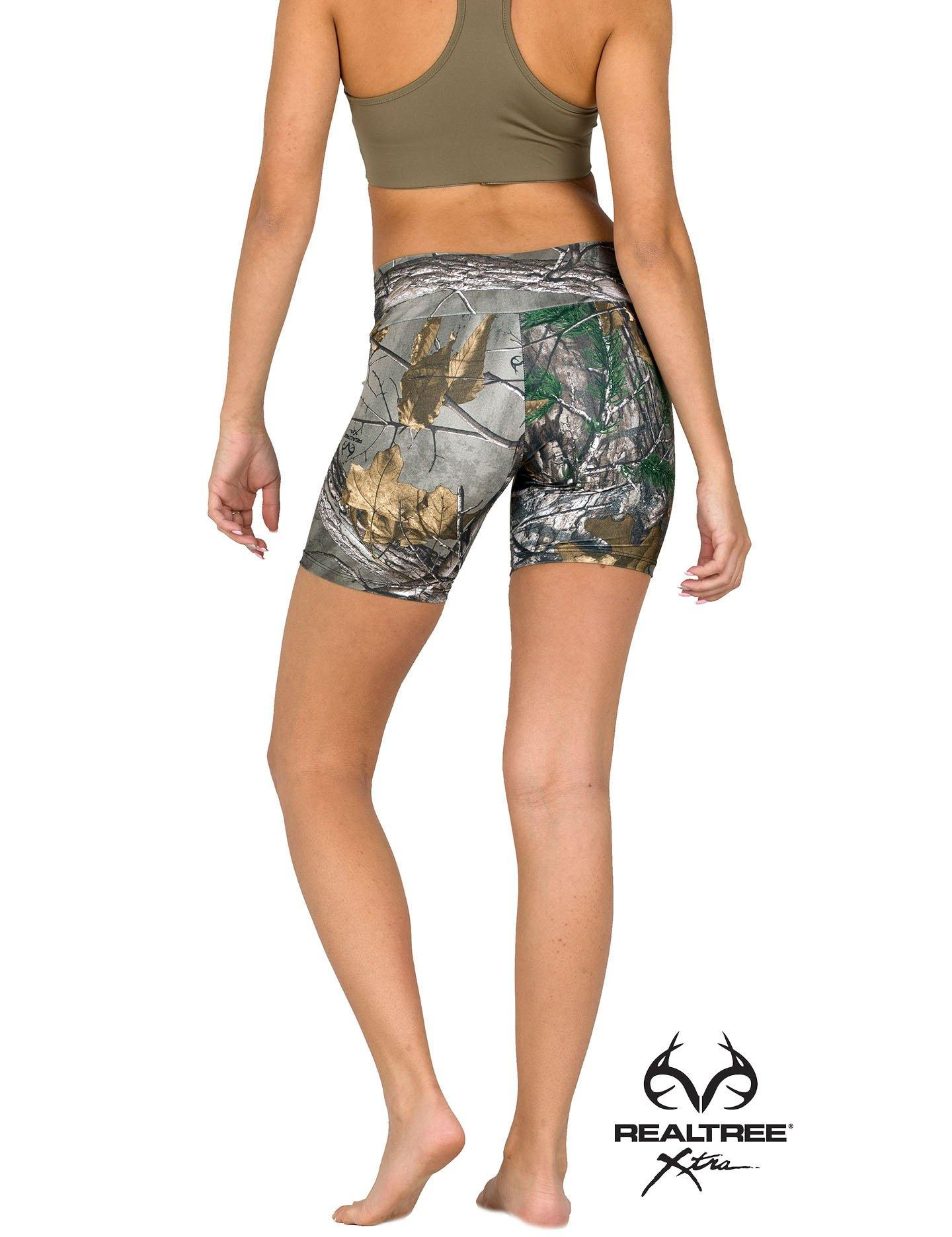 Apsara Shorts Low Waist, Realtree Xtra