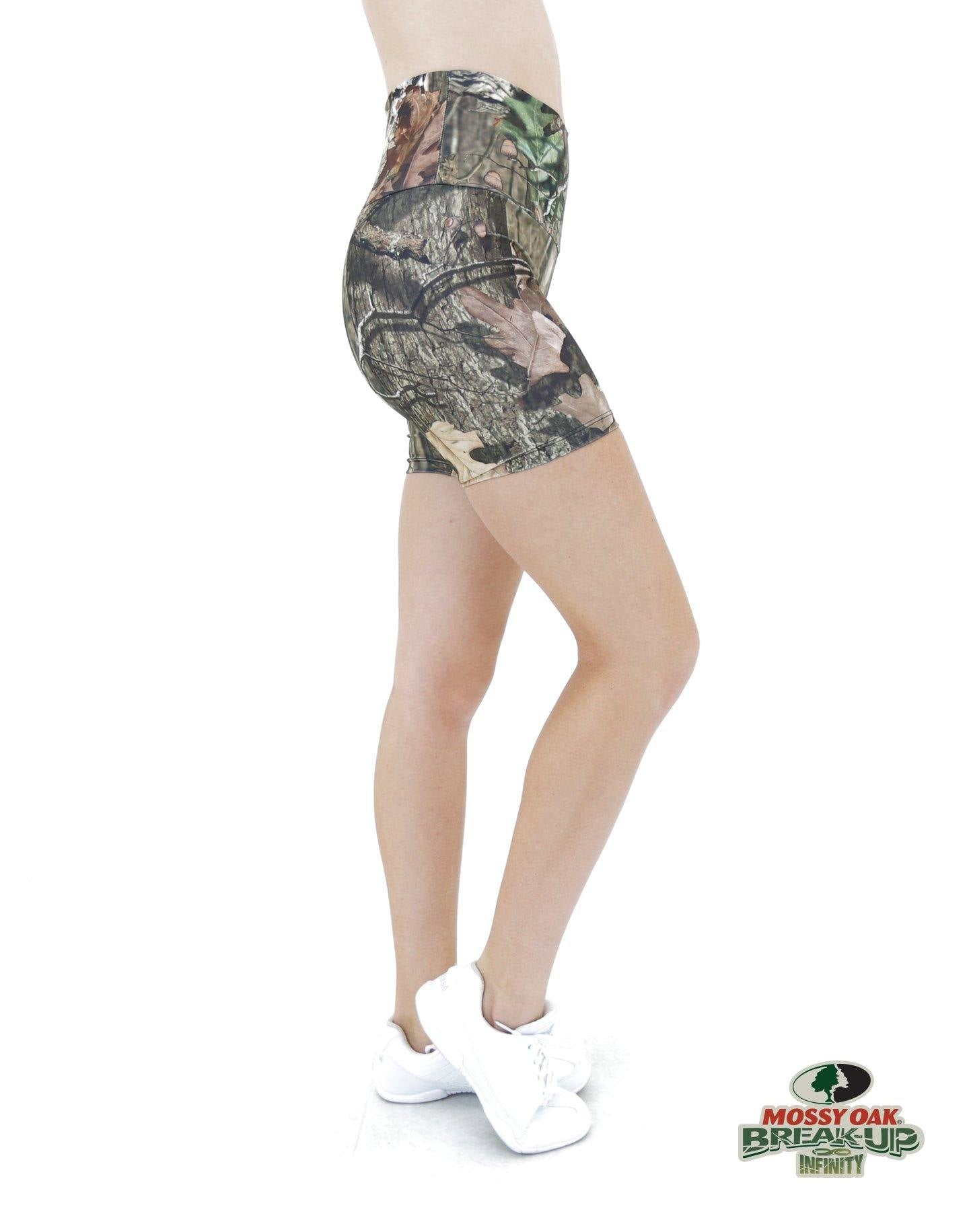 Apsara Shorts High Waist, Mossy Oak Break-Up Infinity