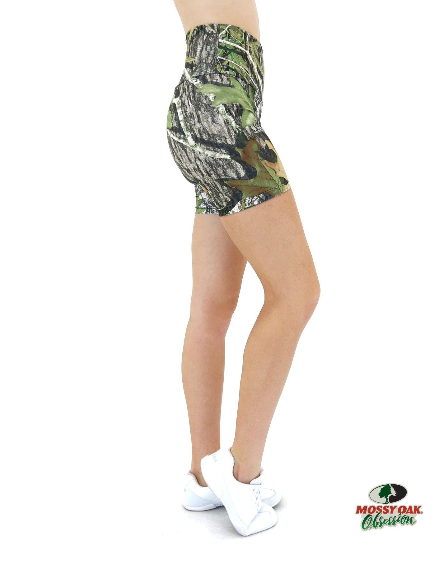 Apsara Shorts High Waist, Mossy Oak Obsession