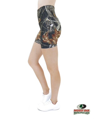 Apsara Shorts High Waist, Mossy Oak Break-Up