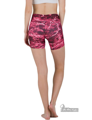 Apsara Shorts Low Waist, Mossy Oak Elements Crimson