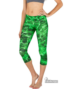 Apsara Leggings Low Waist Capri, Mossy Oak Elements Moray