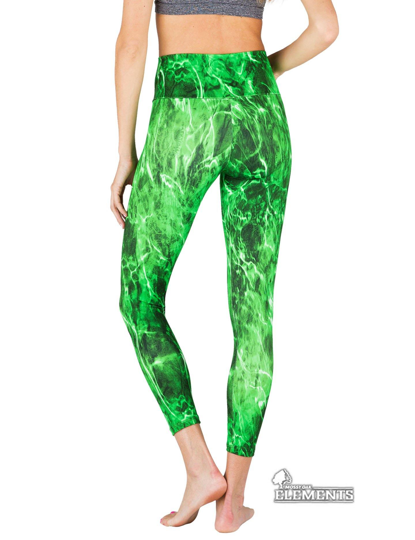 Apsara Leggings High Waist Cropped, Mossy Oak Elements Moray