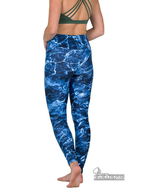 Apsara Leggings High Waist Full Length, Mossy Oak Elements Marlin