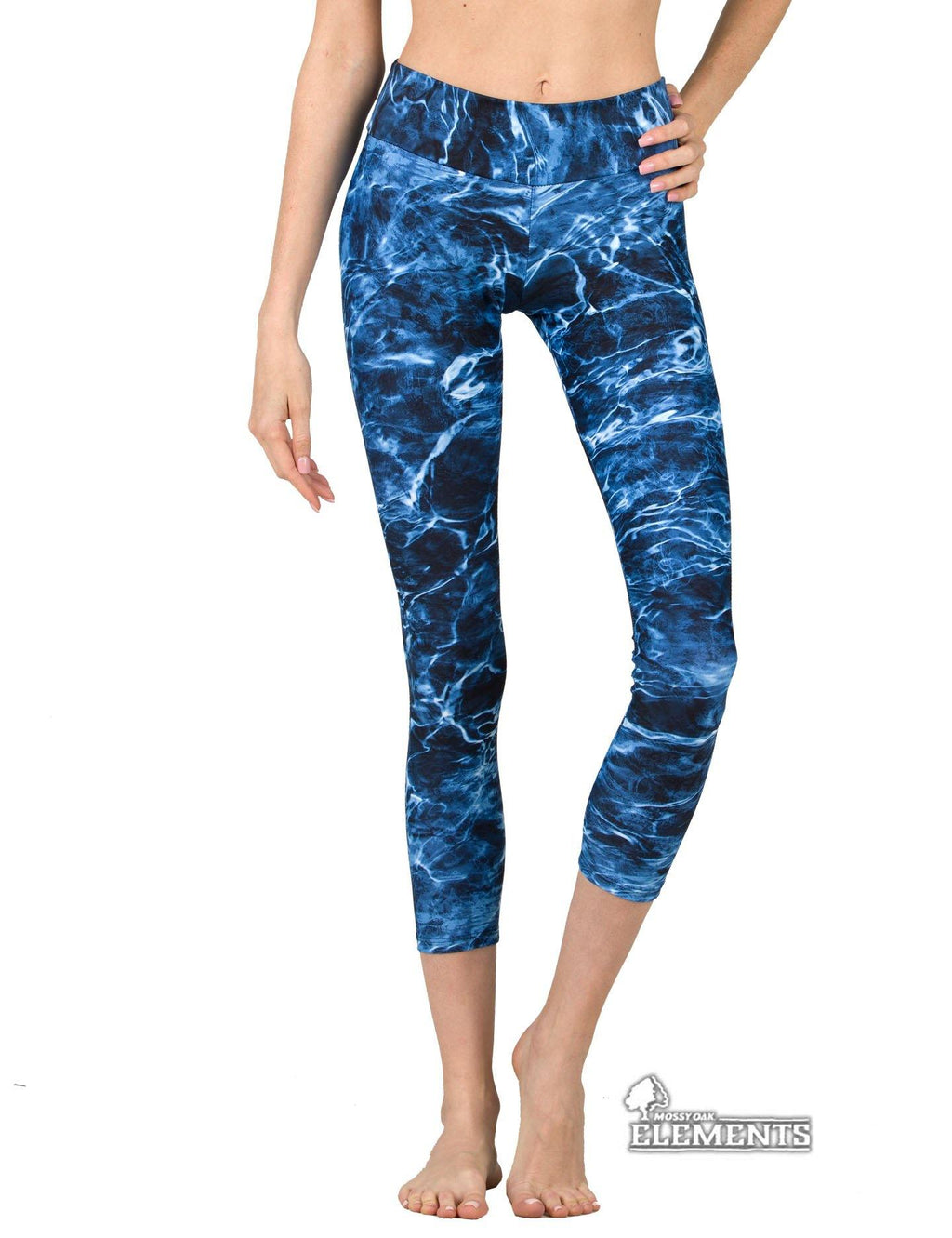 Apsara Leggings Low Waist Cropped, Mossy Oak Elements Marlin
