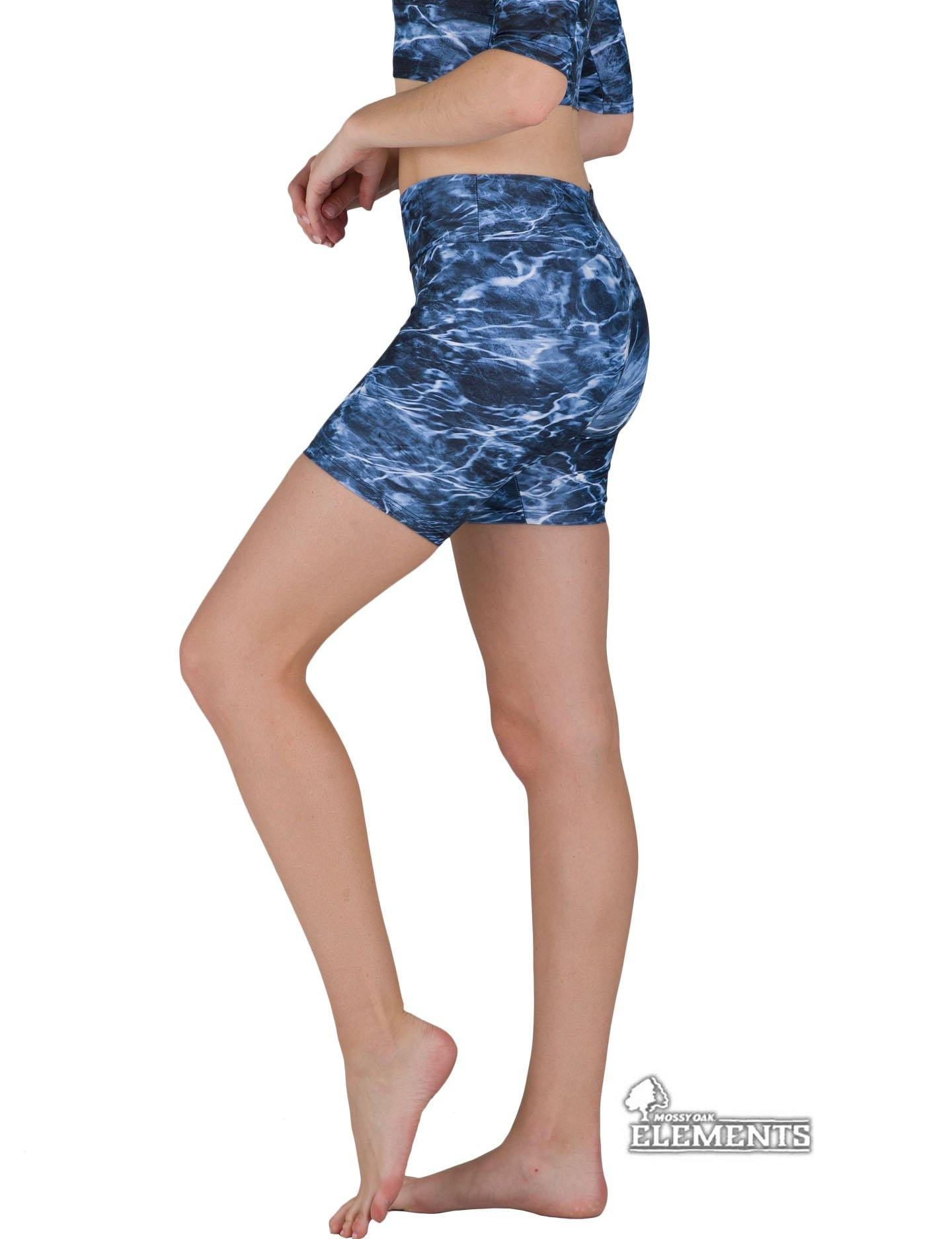Apsara Shorts Low Waist, Mossy Oak Elements Marlin - Apsara Style