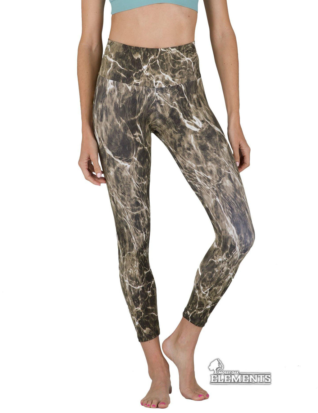 Apsara Leggings High Waist Full Length, Mossy Oak Elements Bronzeback