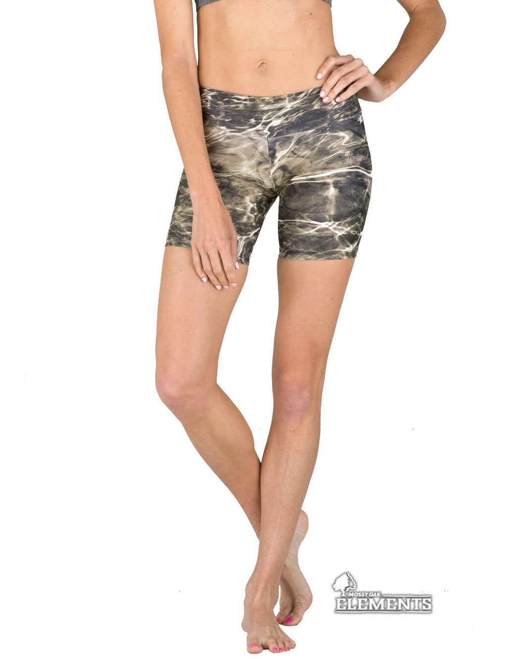 Apsara Shorts Low Waist, Mossy Oak Elements Bronzeback