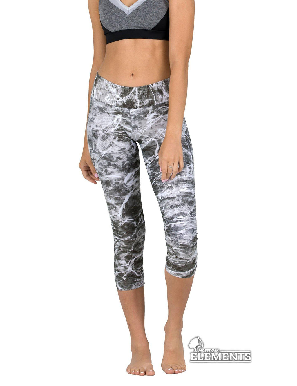Apsara Leggings Low Waist Capri, Mossy Oak Elements Manta