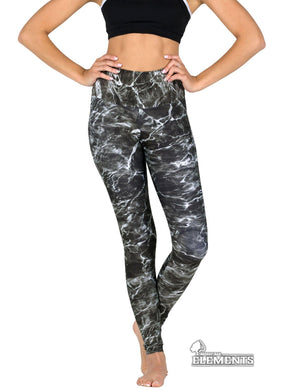 Apsara Leggings High Waist Full Length, Mossy Oak Elements Blacktip
