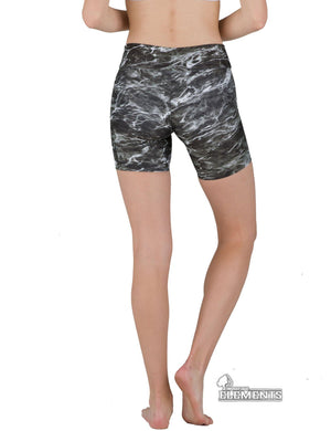 Apsara Shorts Low Waist, Mossy Oak Elements Blacktip
