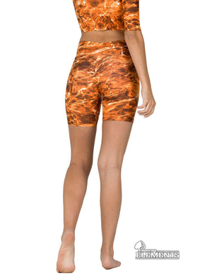 Apsara Shorts Low Waist, Mossy Oak Elements Sunset