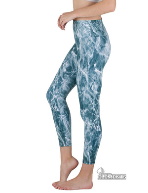 Apsara Leggings High Waist Full Length, Mossy Oak Elements Spindrift