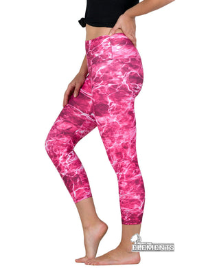 Apsara Leggings Low Waist Cropped, Mossy Oak Elements Anemone - Apsara Style