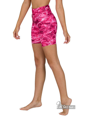 Apsara Shorts High Waist, Mossy Oak Elements Anemone
