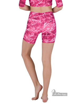 Apsara Shorts Low Waist, Mossy Oak Elements Anemone