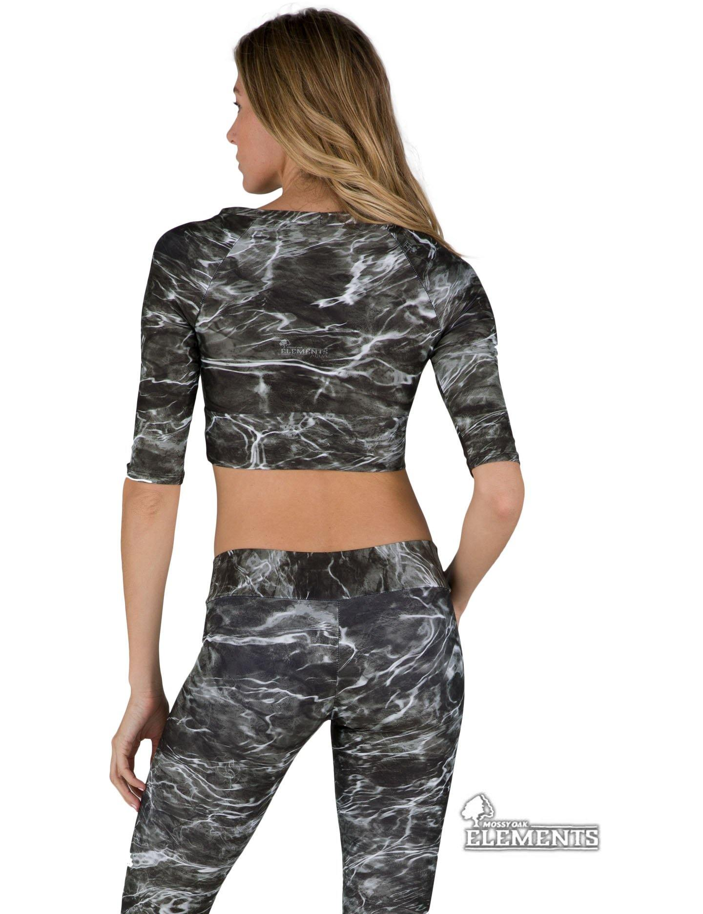 Apsara Cropped Top, Mossy Oak Elements Blacktip