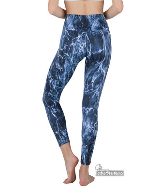 Apsara Leggings High Waist Full Length, Mossy Oak Elements Bluefin
