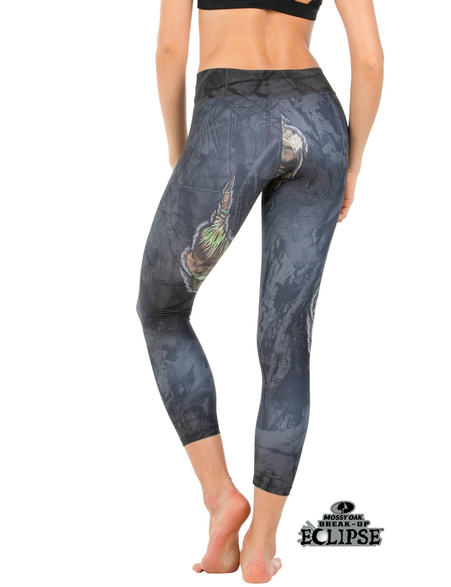 Apsara Leggings Low Waist Cropped, Mossy Oak Break-Up Eclipse