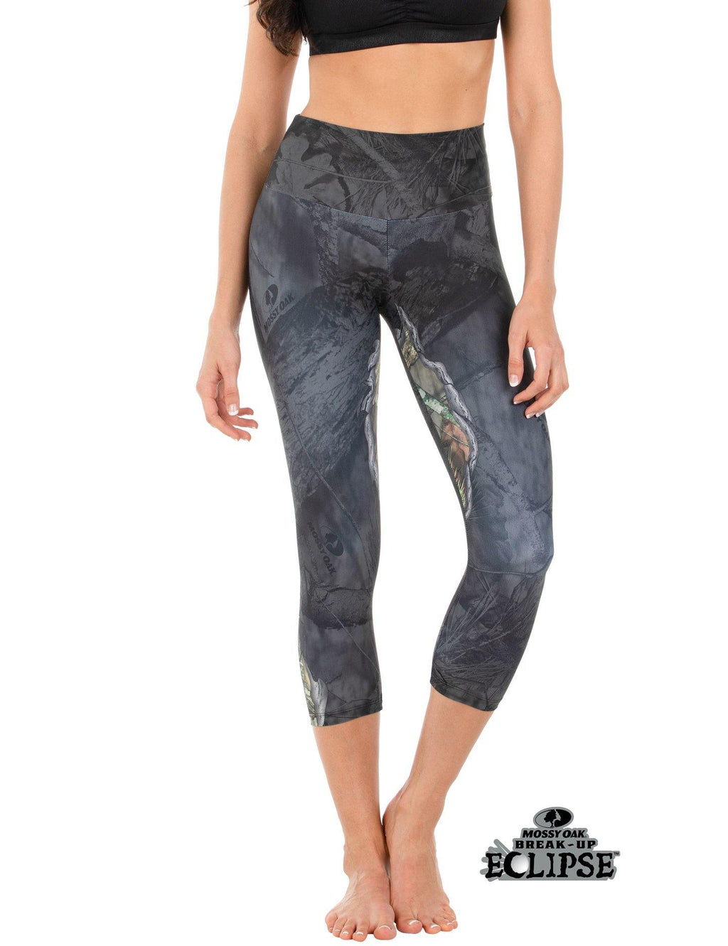 Apsara Leggings High Waist Capri, Mossy Oak Break-Up Eclipse