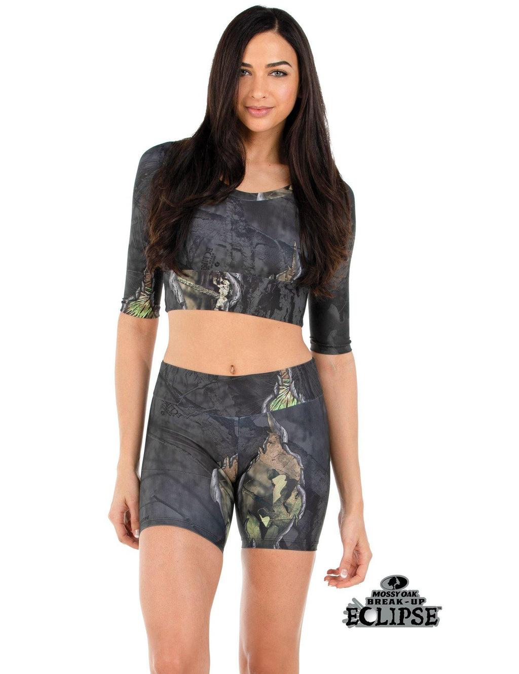 Apsara Cropped Top, Mossy Oak Break-Up Eclipse