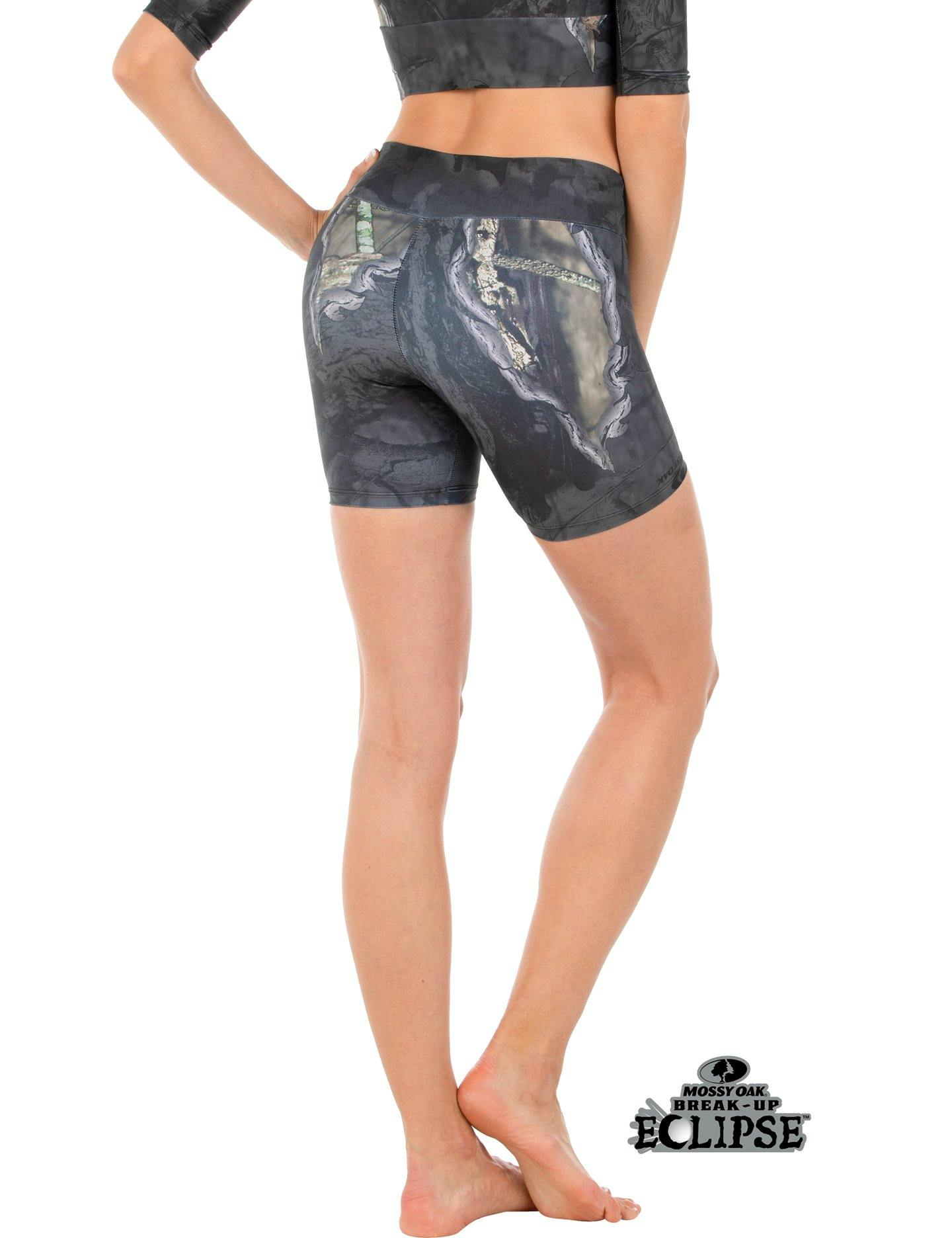 Apsara Shorts Low Waist, Mossy Oak Break-Up Eclipse