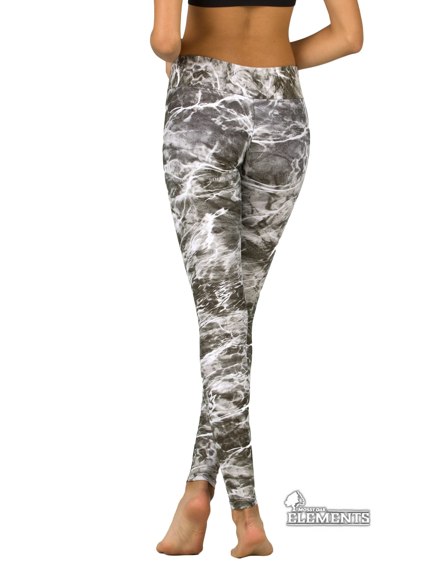 Apsara Leggings Low Waist Full Length, Mossy Oak Elements Manta