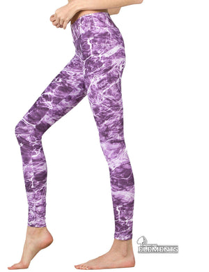 Apsara Leggings High Waist Full Length, Mossy Oak Elements Man-o-War