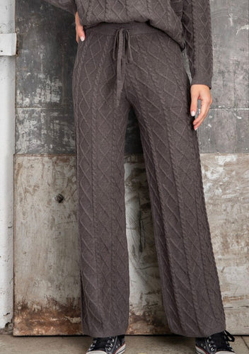 Twist Cable Lounge Pants