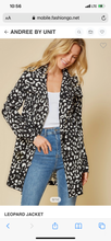 Load image into Gallery viewer, Leopard Spring Jacket
