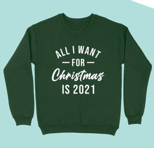 All I want for Christmas is 2021