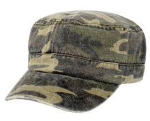 Load image into Gallery viewer, Camo Cadet Hat