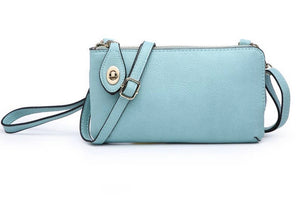Twist Lock Wristlet/Crossbody