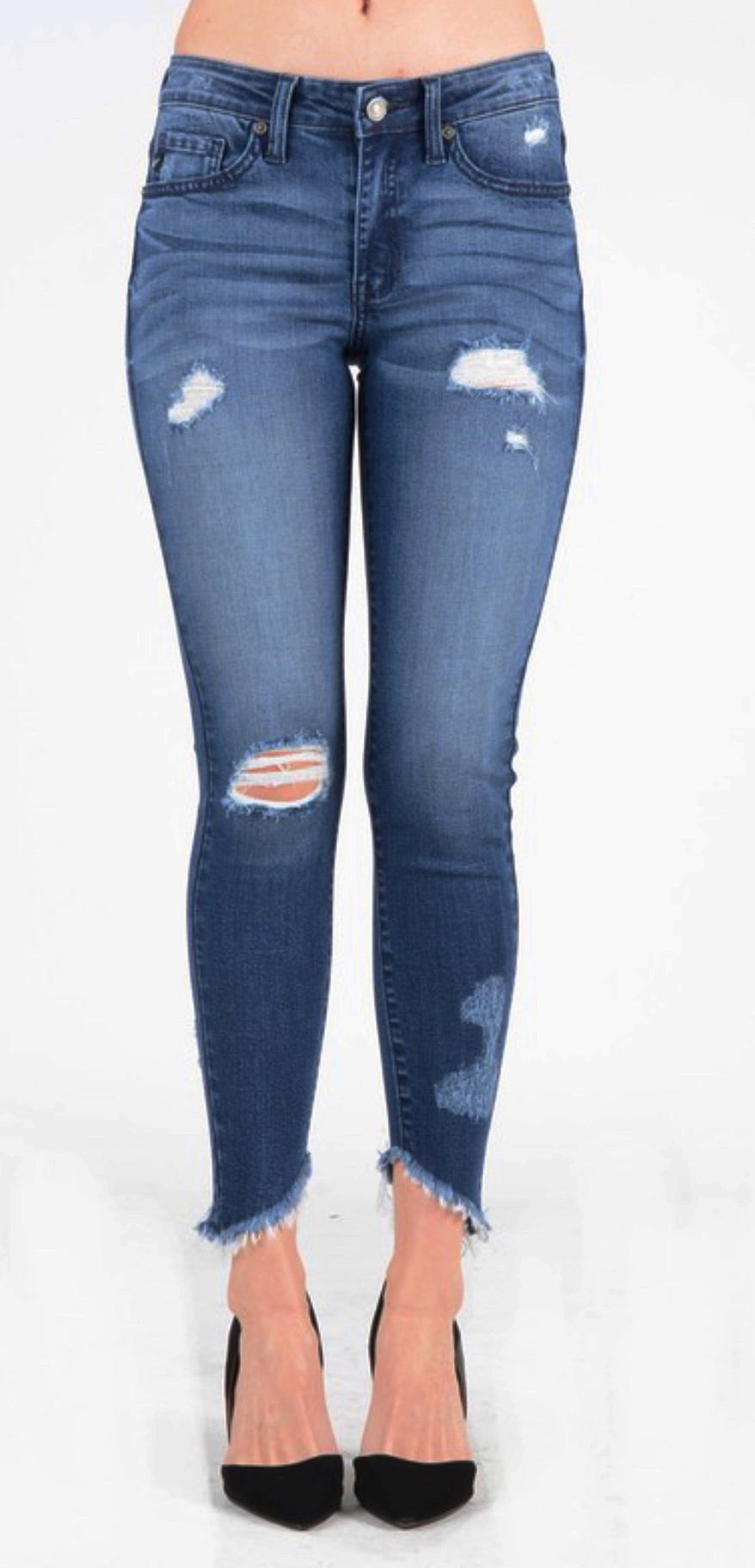 Medium Wash Super Skinny Jeans
