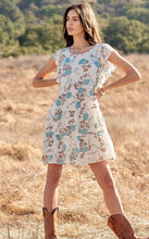 Load image into Gallery viewer, Floral Ruffle Babydoll Dress
